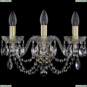 1406B/3/160/G Бра Bohemia Ivele Crystal (Богемия), 1406