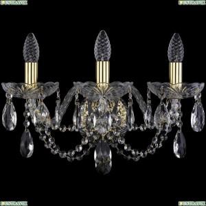 1406B/3/160/XL/G Бра Bohemia Ivele Crystal (Богемия), 1406