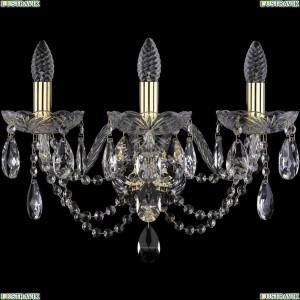 1406B/3/195/XL/G Бра Bohemia Ivele Crystal (Богемия), 1406