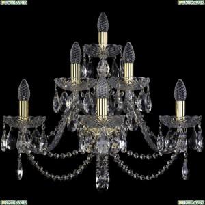 1406B/3+2+1/240/XL/G Бра Bohemia Ivele Crystal (Богемия), 1406