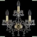 1409B/2+1/141/G Хрустальное бра Bohemia Ivele Crystal (Богемия), 1409