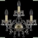 1409B/2+1/160/G Хрустальное бра Bohemia Ivele Crystal (Богемия), 1409