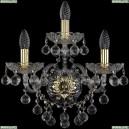 1409B/2+1/160/XL/G Хрустальное бра Bohemia Ivele Crystal (Богемия), 1409