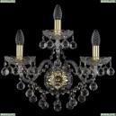 1409B/2+1/195/XL/G Хрустальное бра Bohemia Ivele Crystal (Богемия), 1409