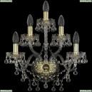 1409B/2+2+1/160/G Хрустальное бра Bohemia Ivele Crystal (Богемия), 1409