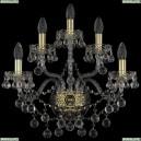 1409B/2+2+1/195/XL/G Хрустальное бра Bohemia Ivele Crystal (Богемия), 1409