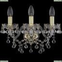 1409B/3/141/G Хрустальное бра Bohemia Ivele Crystal (Богемия), 1409