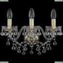 1409B/3/160/G Хрустальное бра Bohemia Ivele Crystal (Богемия), 1409