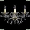 1409B/3/160/XL/G Хрустальное бра Bohemia Ivele Crystal (Богемия), 1409