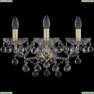 1409B/3/160/XL/G Бра Bohemia Ivele Crystal (Богемия), 1409