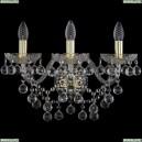 1409B/3/195/XL/G Хрустальное бра Bohemia Ivele Crystal (Богемия), 1409