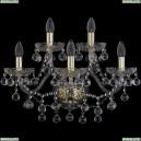 1409B/3+2/195/XL/G Хрустальное бра Bohemia Ivele Crystal (Богемия), 1409