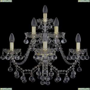1409B/3+2+1/240/XL/G Бра Bohemia Ivele Crystal (Богемия), 1409