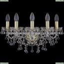 1409B/5/160/G Хрустальное бра Bohemia Ivele Crystal (Богемия), 1409