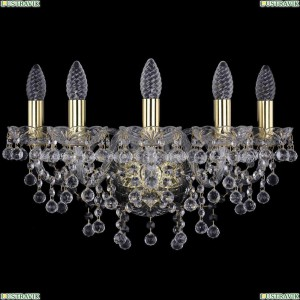 1409B/5/160/G Бра Bohemia Ivele Crystal (Богемия), 1409