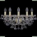 1409B/5/160/XL/G Хрустальное бра Bohemia Ivele Crystal (Богемия), 1409