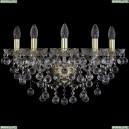 1409B/5/195/XL/G Хрустальное бра Bohemia Ivele Crystal (Богемия), 1409