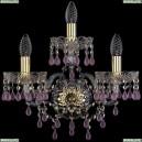 1410B/2+1/160/XL/G/V7010 Бра Bohemia Ivele Crystal (Богемия), 1410