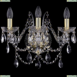 1411B/3/160/G Бра Bohemia Ivele Crystal (Богемия), 1411