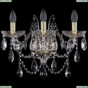 1411B/3/160/XL/G Бра Bohemia Ivele Crystal (Богемия), 1411