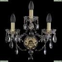 1415B/2+1/141/G Хрустальное бра Bohemia Ivele Crystal (Богемия), 1415