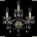 1415B/2+1/165/G Хрустальное бра Bohemia Ivele Crystal (Богемия), 1415