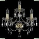 1415B/2+1/200/XL/G Хрустальное бра Bohemia Ivele Crystal (Богемия), 1415