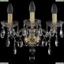 1415B/3/141/G Хрустальное бра Bohemia Ivele Crystal (Богемия), 1415