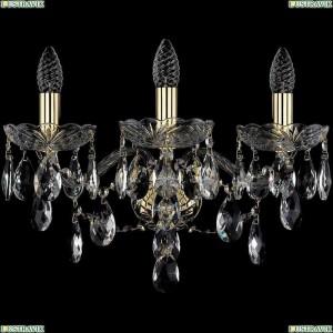 1415B/3/165/XL/G Бра Bohemia Ivele Crystal (Богемия), 1415