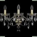 1415B/3/200/XL/G Хрустальное бра Bohemia Ivele Crystal (Богемия), 1415