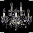 1415B/3+2/165/G Хрустальное бра Bohemia Ivele Crystal (Богемия), 1415