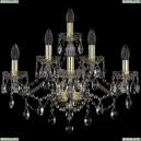 1415B/3+2+1/220/G Хрустальное бра Bohemia Ivele Crystal (Богемия), 1415