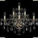 1415B/3+2+1/220/XL/G Хрустальное бра Bohemia Ivele Crystal (Богемия), 1415