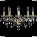 1415B/5/165/G Хрустальное бра Bohemia Ivele Crystal (Богемия), 1415