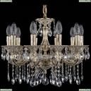 1702/10/175/A/GW Хрустальная подвесная люстра Bohemia Ivele Crystal (Богемия), 1701