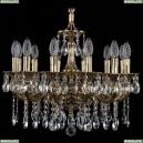 1702/12/175/A/GB Хрустальная подвесная люстра Bohemia Ivele Crystal (Богемия), 1701