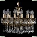 1702/14/175/A/GB Хрустальная подвесная люстра Bohemia Ivele Crystal (Богемия), 1701