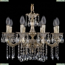 1702/8/175/A/GW Хрустальная подвесная люстра Bohemia Ivele Crystal (Богемия), 1701
