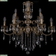 1722/6+3/250/B/FP Хрустальная подвесная люстра Bohemia Ivele Crystal (Богемия), 1702