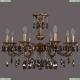 1702/8/250/A/FP/K731 Хрустальная подвесная люстра Bohemia Ivele Crystal (Богемия), 1702