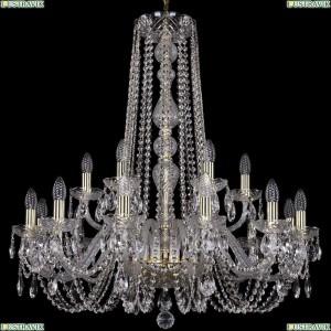 1402/12+6/300/h-90/G Подвесная люстра Bohemia Ivele Crystal (Богемия), 1402