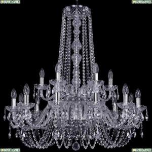 1402/12+6/300/h-91/2d/Ni Подвесная люстра Bohemia Ivele Crystal (Богемия), 1402