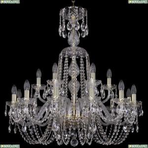 1402/12+6/300/XL-90/G Подвесная люстра Bohemia Ivele Crystal (Богемия), 1402