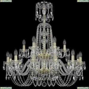 1402/12+6/300/XL-91/2d/G Подвесная люстра Bohemia Ivele Crystal (Богемия), 1402