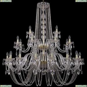 1402/16+8+4/460/2d/G Подвесная люстра Bohemia Ivele Crystal (Богемия), 1402