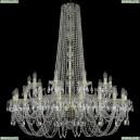 1402/20+10/400/h-130/G Хрустальная подвесная люстра Bohemia Ivele Crystal (Богемия), 1402