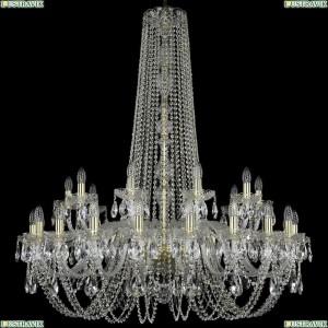 1402/20+10/400/h-130/G Подвесная люстра Bohemia Ivele Crystal (Богемия), 1402