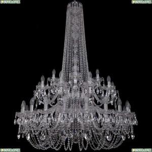 1402/20+10+5/400/h-160/2d/Ni Подвесная люстра Bohemia Ivele Crystal (Богемия), 1402