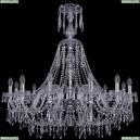1403/12/360/XL-100/Ni Хрустальная подвесная люстра Bohemia Ivele Crystal (Богемия), 1403