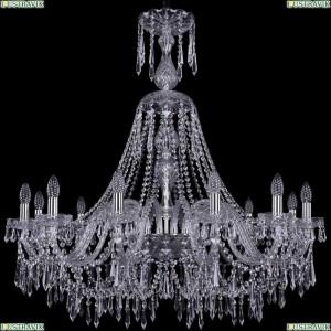 1403/12/360/XL-100/Ni Подвесная люстра Bohemia Ivele Crystal (Богемия), 1403